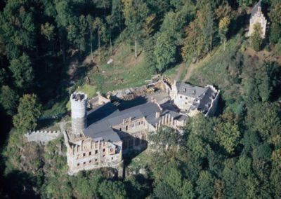 Horní hrad Hauenštejn